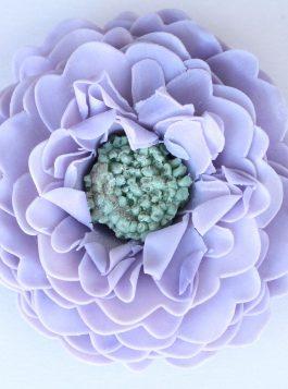 Amethyst Lavender Pincushion