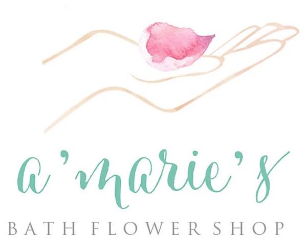 A'Marie's bath flowers - logo