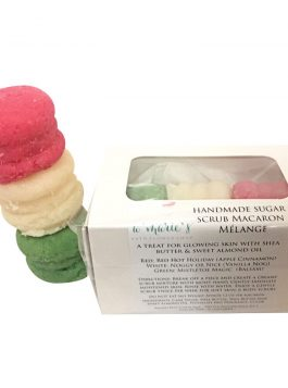 Holiday Collection Box of 3 Sugar Scrub Macaron
