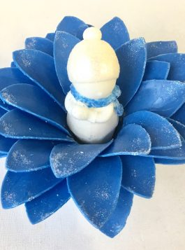 Love at First Snow Soap Flower