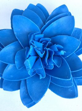 Twilight Sapphire Petal Soap Flower