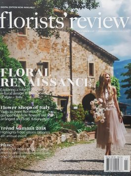 Florist Review Wedding - A'Marie's Bath Flowers