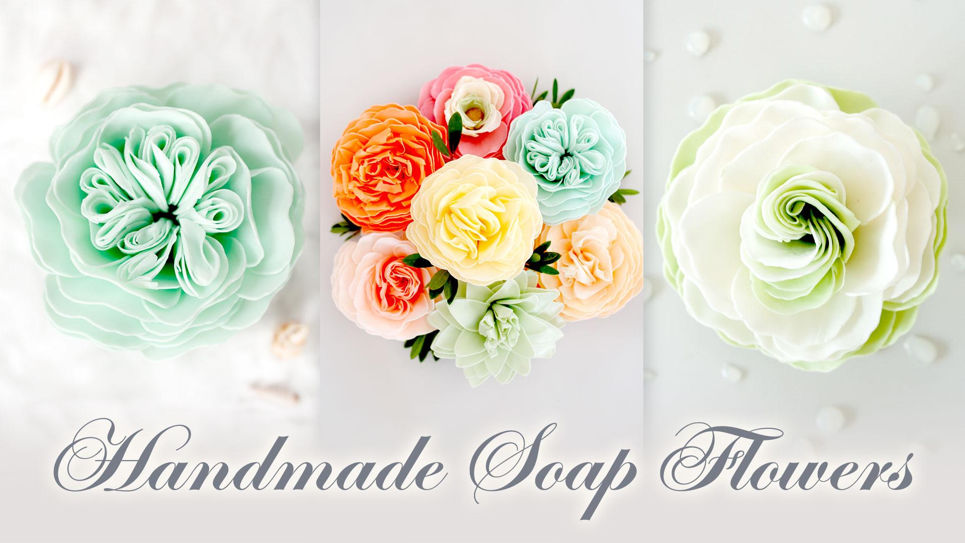 Handmade Soap Flowers - A'marie's Bath Flowers