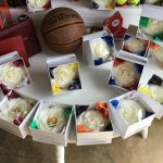 Basketball - Bath Flowers - School Colors