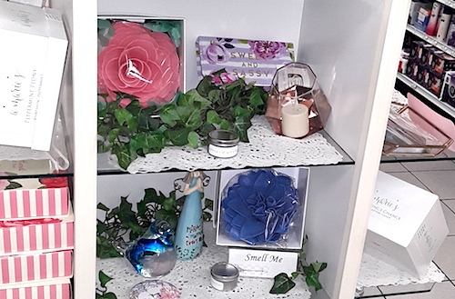 Amarie's Bath Flowers - Retail Tips - Product Groupings - Marty's Pharmacy