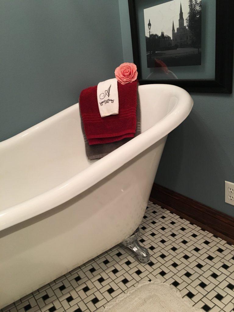 Bathroom Use - Amarie's Bath Flowers