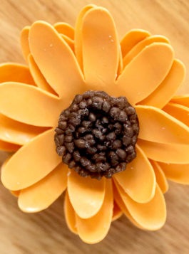 Pumpkin Patch Petite Soap Flower