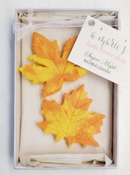 Sugar Maple Bathing Leaves Set