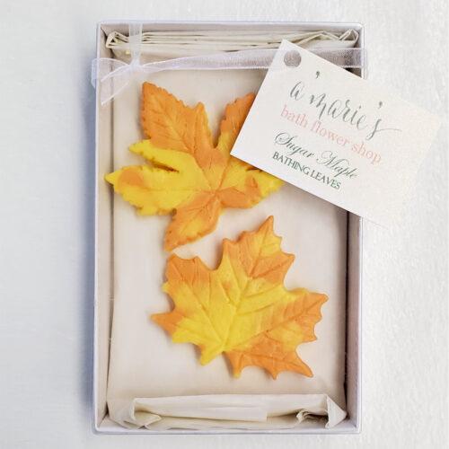 Sugar Maple Bathing Leaves Set